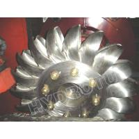 Buy cheap Stainless Steel Hydro Pelton Turbine runner for high Water Head Hydropower Station from Wholesalers
