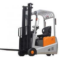 Buy cheap electric 3 wheels pallet forklift 500kg lifting capacity working in floor anhui vmax forklift from wholesalers