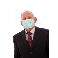 Buy cheap Outdoor Anti Germs Biodegradable Medical Protective Face Mask from wholesalers