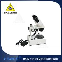 Buy cheap Generation 1st Straight arm type Gem Microscope With F19 binocular lens product