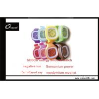 Buy cheap Power Anion Balance OEM or ODM Water Resistant Negative Ions Watch for Kids Gift from wholesalers
