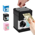 Buy cheap wholesale  Electronic Piggy Bank Safe Box Money Boxes  Digital Coins Cash Saving Safe Deposit ATM Machine  Christmas from wholesalers