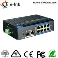 Buy cheap Rugged Ethernet POE Switch 1x10/100/1000M RJ45 + 1x1000M SFP Uplink , 8x10/100M from wholesalers
