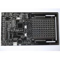 Buy cheap Black Solder Mask Double Sided PCB for Control System White Silkscreen HASL UL from wholesalers