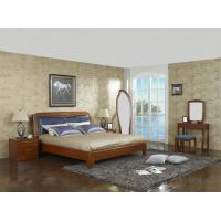 Buy cheap New design Upholstered headboard Bedroom furniture set By ISO9001 and FSC china from wholesalers