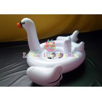 Buy cheap Giant Swan Pool Float , Inflatable Pool Toys Flamingo Unicorn For Fun Play from wholesalers