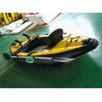 Buy cheap Professional Inflatable Sea Kayak Safe Double Person Kayak With Airmat Floor from wholesalers