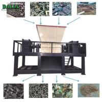 Buy cheap Single Shaft Plastic Shredder Machine / Chipper Machine For PET Bottle Rubber Tire from wholesalers