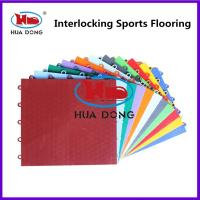 Buy cheap Anti-Slip Resistance Suspended Interlocking Sports Flooring from wholesalers