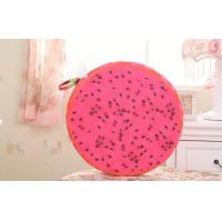 Buy cheap Cute Watermelon / orangesoft plush fabric round shape fruit pillow Cushions 35CM from wholesalers