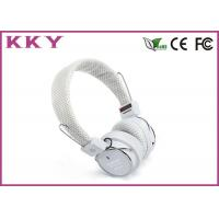 Buy cheap Bluetooth Stereo Earphones White Color , Bluetooth Music Headphones BH05 from wholesalers