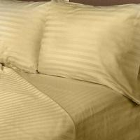 Buy cheap 400TC 100% Cotton Stripe Sheet Set, Customized Sizes are Accepted product
