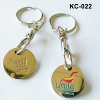 Buy cheap Shopping Chip With Key Ring from wholesalers