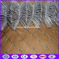 Buy cheap Supply 6ft High Heavy Zinc Coated Temporary PVC coated for playground garden highway Construction Chain link fence from wholesalers