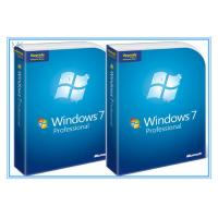 Buy cheap Microsoft Windows Software Windows 7 Pro 64 Bit Full Retail Version DVD Sofware With COA 100% Activation from wholesalers