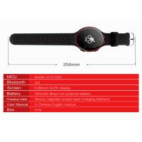 Buy cheap 2.5D Glass Bluetooth Smart Wrist Watch Sports Health Bracelet Colorful 0.95 OLED from wholesalers
