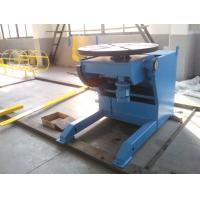 Buy cheap Horizontal Automatic Welding Positioner , 3 Ton Weld Positioner Turing Tables from wholesalers