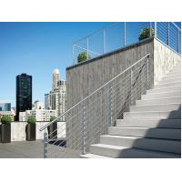 Buy cheap Stainless Steel Railing System Grill Design , Exterior Rope Handrail product