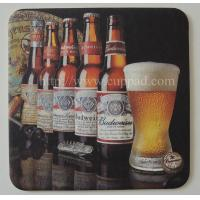 Buy cheap Paper printed coaster mats, mug coaster from wholesalers