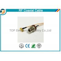 Buy cheap N Type 50 OHMS Different RF Coaxial Cable RG136 , RG174 , RG178 from wholesalers