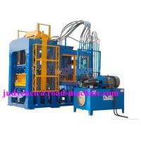 China QT8-15 Model Concrete / Cement Brick Machine Line , Productivity 28800pcs-33600pcs Blocks Per Day, Mixer JS750 on sale