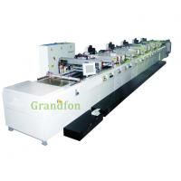 Buy cheap woven label automatic screen printing machine from wholesalers