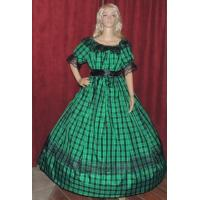 Buy cheap Wholesale  Mouse over image to zoom CIVIL-WAR-REENACTMENT-SASS-LARP-DICKENS-Green-Plaid-Ta product