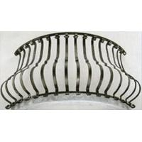 Buy cheap Stair spindle Aluminum bending baluster railing from wholesalers