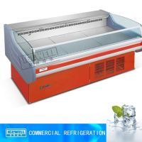 Buy cheap 2015 new style commercial supermarket open fresh meat fridge freezer from wholesalers