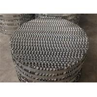 China Perforated Plate Distillation Column Packing / Packed Tower Distillation Structured Tower on sale
