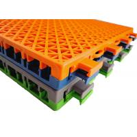 Buy cheap Recyclable PP Multi Purpose Sports Flooring Anti UV Moistureproof Multicolor from wholesalers