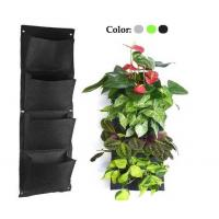 Buy cheap New 2016 Super Quality 4,6, 9,12,25 Pockets Felt Planter grow Bag,Felt Grow Bags from wholesalers