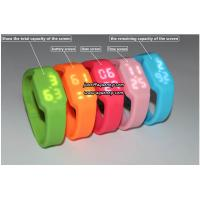 Buy cheap Custom new silicone led watch sports watch with cheap price from wholesalers