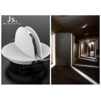 6W RGB recessed color changing led ceiling light with DMX Dali control system