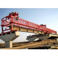 Buy cheap 100 Ton Beam Launcher Machine Double Truss Bridge Erection Machinery 2 years Warranty product