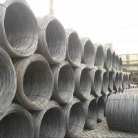 Buy cheap 6.5mm / 5.5mm EM12K Carbon Steel Rod Coil Hot Rolled for Welding from wholesalers