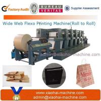 Buy cheap Wide web flexographic printing machine process from wholesalers