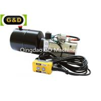 Buy cheap Horizontal Mounting DC 12V Hydraulic Power Unit with Manual Override product