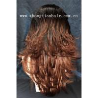 Buy cheap 100%kosher russian hair wig with Kosher Certification from wholesalers