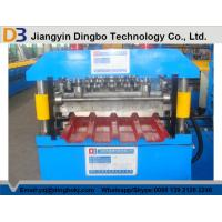 Buy cheap 5.5Kw Metal Roofing Forming Machine , Electric Control Standing Seam Metal Roof Machine from wholesalers