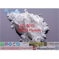 Buy cheap LGD-4033 Muscle Building SARMs Powder Ligandrol Man Body Shape Cutting Benifits IGF from wholesalers