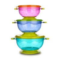 Buy cheap FDA approved non-slip spill proof snack baby suction bowl from wholesalers