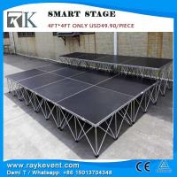 Buy cheap RK 1x2m non-slip material  platform  easy set-up portable modular stage display stage from wholesalers