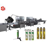 Buy cheap High Speed Aerosol PU Foam Filling Machine Straw Type from wholesalers
