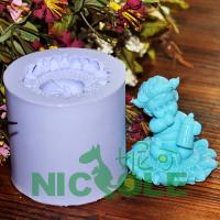 China silicone rubber flower candle mold silicone candle molds crafts candle mold on sale