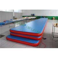 Buy cheap Customized Size Air Trak Gymnastics Mat , Inflatable Exercise Mat Leak Proof from wholesalers