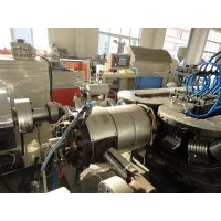 Buy cheap Double Wall HDPE DWC Corrugated Pipe Production Line from wholesalers