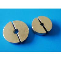 Buy cheap Segment Sintered Ndfeb Magnet For MRI / NMR,Prone To Oxidation from wholesalers