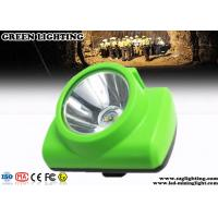 Buy cheap Wireless Cree Coal Mining Lights 3.7V Rechargeable Battery 13000 Lux Wide Beam from wholesalers