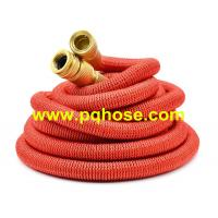 Buy cheap Red color, Expandable hose with solid brass fitting, latex hose, CE,REACH, ROHS, PAHS certificate from wholesalers
